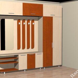 Мебели по поръчка антрета и коридори
