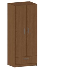 Гардероб две врати и чекмедже 1800/700/520