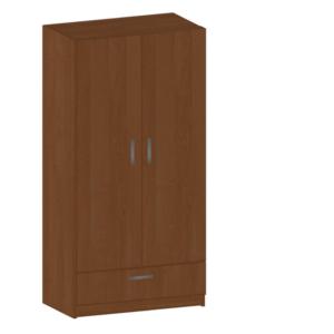 Гардероб две врати и чекмедже 1800/900/520