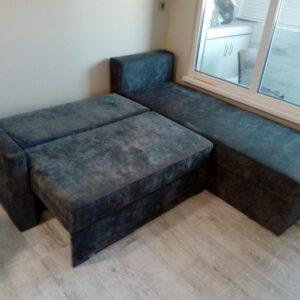 Мека мебел по поръчка на клиент